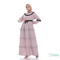 Dress Muslim Wanita | Gamis Amanda Coksu | M L XL | Tazkia Hijab