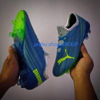(REAL PICT)Sepatu bola puma ultra biru bahan import murah terlaris