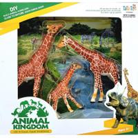 New Canna Animal Kingdom Giraffe Family - Mainan Action Figure Jerapah