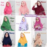 Size SML Jilbab anak raggakids / khimar aisyah hijab anak ragga kids