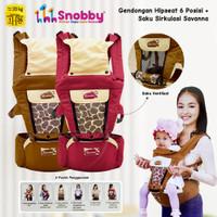 5in1 Hipseat BABY LEON Gendongan Duduk Gendongan Bayi Depan BY-60-GB