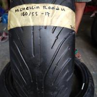 Ban Bekas Moge Michelin Pilot Road 4 180 55 17 not Batlax Pirelli