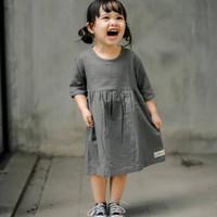 JOLIE Dress - Pakaian Anak Perempuan Kasual 2-4 Tahun Fashion Baju