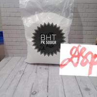 BHT Crystals Food Grade Anti Oksidan Anti Tengik Ex. RRT 500 Gram