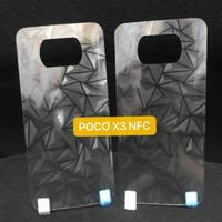 Xiaomi Pocophone Poco X3 Pro Anti Gores Belakang Back Skin Diamond 3D