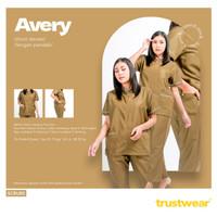 Doctor's Scrub / Set Baju Jaga Perawat/Dokter Model Avery (UNISEX)