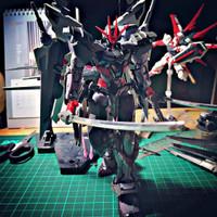 [SOLD] Gundam MG 1/100 Astray Noir Hirm atau Hires Bandai