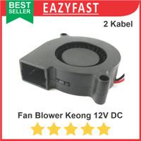 Blower Fan Kipas Angin Keong DC 12V Turbo Brushless Fan Cooler