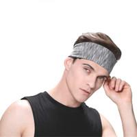 Bandana Headband Olahraga Elastic Sport Hairband Yoga Head Band Sepeda