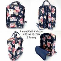 ransel cath kidston backpack motif bunga