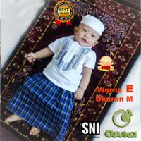 Baju Koko Muslim Sarung Bayi Laki Laki Bordir Koko Sarung Bayi 1 tahun