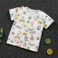 PREMIUM Baju Bayi Kaos Anak Laki Perempuan Karakter Unisex Katun Murah - 1, 90