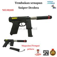 Mainan Anak Tembak Tembakan Senapan Sniper Dcobra-M206
