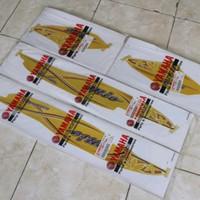 graphic striping stiker list mio sporty kuning motif bunga 2005 ori