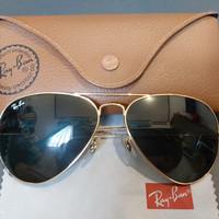 Kacamata sunglasses Rayban Aviator original italy mulus