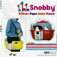 Snobby Baby Tas Perlengkapan Bayi Kecil Medium Besar Termurah Terbaru - TPT-1672 MERAH