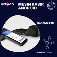 Advan Harvard 01 Smart Mobile Pos / Mesin Printer Android Kasir Advan