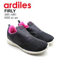 Sepatu Sneakers Slip on Wanita-Ardiles Firly Abu