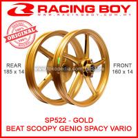 Velg RCB SP522 Gold Ring 14 Beat FI Scoopy Vario 110 Racing Boy SP 522