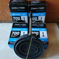 Ban Dalam Sepeda Balap Fixie Deli Tire 700x19/23C FV60