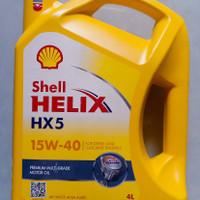 OLI PELUMAS MESIN SHELL HELIX HX5 API SN/CF ACEA A3/B3 SAE 15W-40 4L