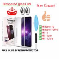 Xiaomi Mi Note 10 10Pro 11 11pro ultra pro Antigores Bening TG UV