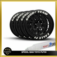 Spidol Ban TOYO Putih / Paint Marker Toyo Whait High Quality