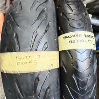 Ban bekas Moge Michelin Pilot Road 5 120 70 17 & 180 55 17 not Batlax