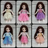 BAJU Boneka Bjd Baby Barbie 16-17cm Handmade Import