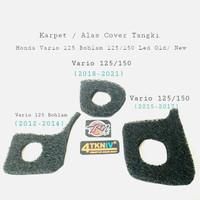 Karpet / Cover Alas Tutup Tangki Honda Vario 125 Old 125-150 Led New