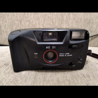 kamera analog film Canon mate ae 21 antik jadul lawas vintage kuno