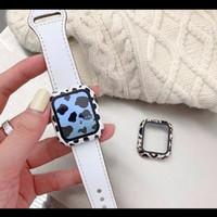 Case Anti Gores IWO Motif Lucu Apple Watch iWatch 4 5 6 40mm 38mm