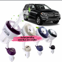 Nanum II Car Humidifier Diffuser Aroma Therapy Mobil Charger USB