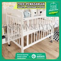 Ranjang Bayi (Baby Box) Kayu - Baby Florencia TANPA KELAMBU