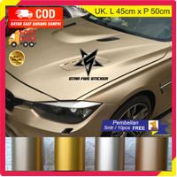 Sticker Stiker Body Motor Warna Kuning Emas Gold