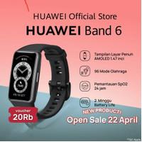 Huawei band 6 resmi Free Anti Gores Hydrogel