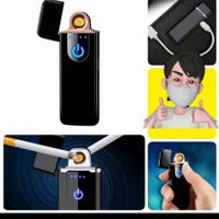 Gen 2 Korek api fingerprint elektrik mini sensor Touch led lighter usb