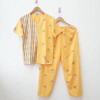 Piyama Remaja / Baju Tidur Wanita /Setelan Panjang Perempuan XL