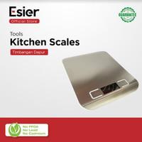Esier Kitchen Scale - Timbangan Dapur Kue Timbangan Kopi Digital 10 KG