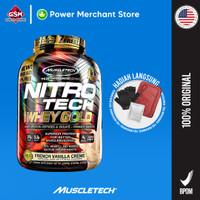 Muscletech Nitrotech Whey Gold 5.5LB Vanila