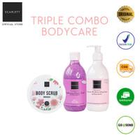 Paket Hemat Scarlett Whitening Triple Combo Bodycare