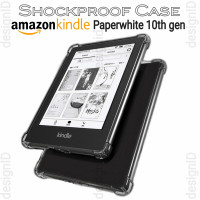 kindle paperwhite 10 10th gen clear case shockproof tpu cover bening