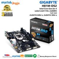 GIGABYTE Motherboard Intel H81 LGA1150 2xDDR3 MicroATX GA-H81M-DS2