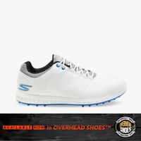 Skechers GO GOLF Pivot Men's Golf Shoes - White/Grey/Blue