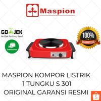 Maspion Kompor Listrik Portable 1 Tungku S301 Elektrik Mini Low Watt
