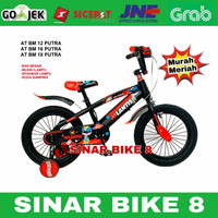 Sepeda Anak Laki BMX 18 Inch ATLANTIS PUTRA Ban Jumbo Musik