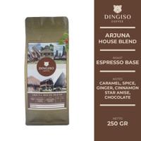 Arjuna Houseblend (75:25 Robusta: Arabica) Roasted Coffee Beans 250 gr