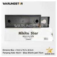 BOX FILTER AIR AQUARIUM NIKITA STAR / FILTER BOX / MINI SEDANG JUMBO
