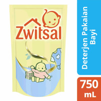Zwitsal Baby Fabric Detergent 750 ml Deterjen Cair untuk Baju Bayi