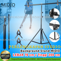 Background Stand Foto Studio Midio Lebar 70 CM x Tinggi 200 CM